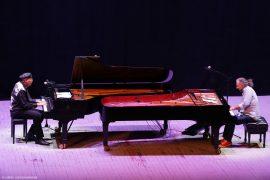 Stefano Bollani e Chucho Valdes in Piano a Piano a Torino