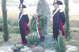 Gavi ricorda l'appuntato Vaccarella, morto in servizio nel 1970