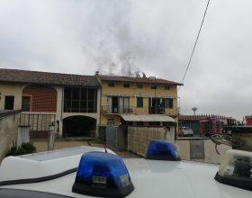 Casale incendio Borgo San Martino