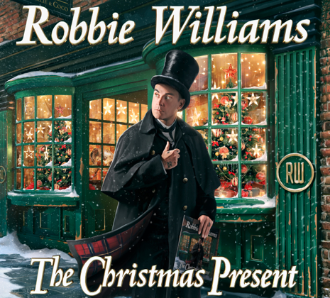 "Esce oggi ""The Christmas Present"" il primo album di Natale di Robbie Williams"