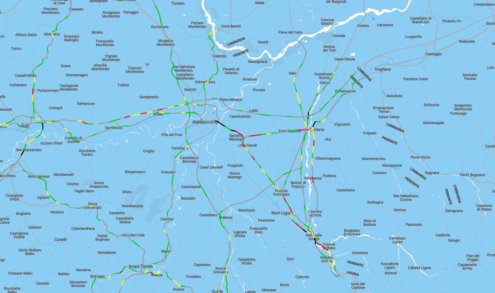 Mappa incidenti 2018