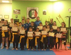 Accademia Wushu Sanda: esami per il cambio cintura delle nuove leve