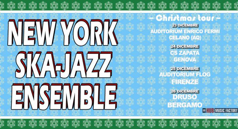 Arriva il tour natalizio delNew York Ska-Jazz Ensemble