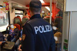 Immagine Latitante rintracciato a bordo di un treno ad Alessandria dalla Polfer