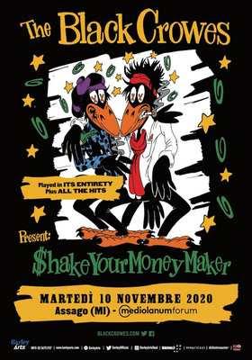 The Black Crowes festeggiano il 30° anniversario di Shake Your Money Maker