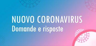 Coronavirus domande e risposte