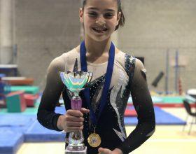 Ginnastica artistica: Giorgia Piccarolo è la nuova campionessa Regionale Allieve Gold L4