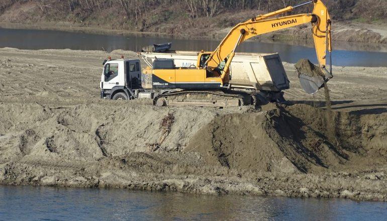 Addio all'isolotto sul fiume Po a Casale [PHOTOGALLERY]