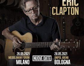 Eric Clapton: rinviate le date del tour
