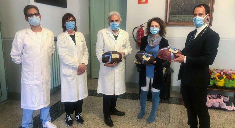 Dalla Fondazione Uspidalet, a Pasqua, 150 colombe per medici e infermieri