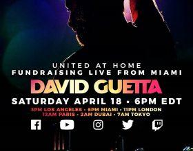 David Guetta: stasera un live che unirà il mondo attraverso la musica