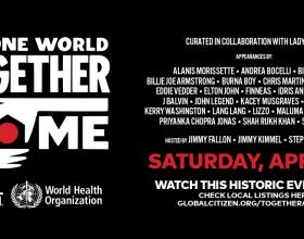 Lady Gaga annuncia il concerto benefico One World Together il 18 aprile