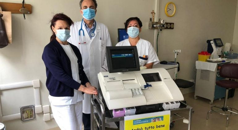 Coronavirus: i dipendenti di Vitop e Smurfit Kappa donano agli ospedali del territorio