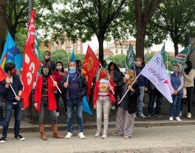 Protesta sindacati scuola