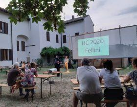Ieri prima serata-cinema a Hortus Conclusus