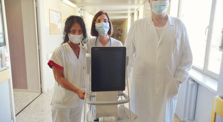 Raccolta fondi Solidal: donato un nuovo ecografo all'Ospedale di Alessandria