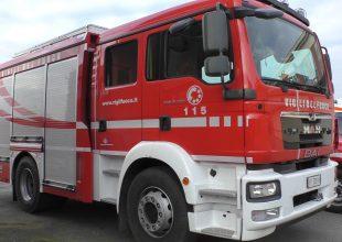 Incendio in un casolare disabitato a Gamalero: al lavoro i Vigili del Fuoco