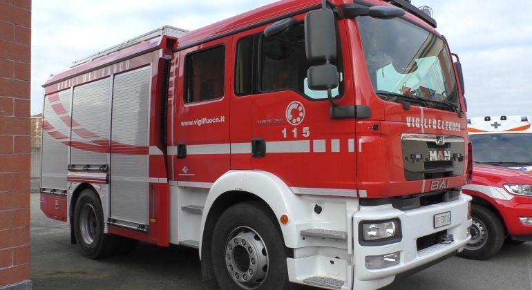 Incidente sulla SP30 all'altezza di Panorama: mezzi di soccorso in azione