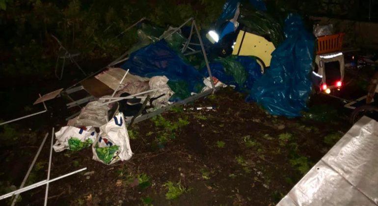 Maltempo senzatetto agosto 2020