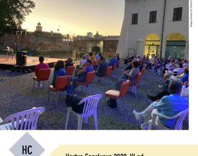 Un ventaglio di arte per la quinta settimana di Hortus Conclusus
