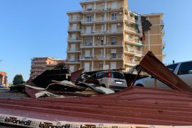 Tempesta Alessandria 1 agosto 2020