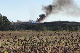 Incendio alla discarica di Cerro Tanaro nell'astigiano: colonna di fumo visibile anche in provincia