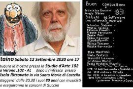 All'Isola Ritrovata la festa per gli 80 anni di Sergio Staino e Guccini
