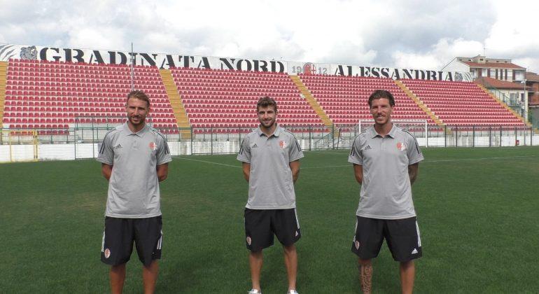 Alessandria Calcio: parlano Corazza, Rubin e Celia