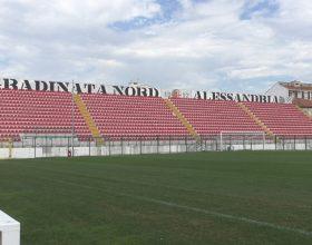 Posticipata la gara tra Alessandria e Pontedera: ecco perché