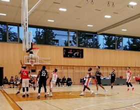 Derthona Basket: una tripla di Fabi consegna il successo ai leoni contro Massagno