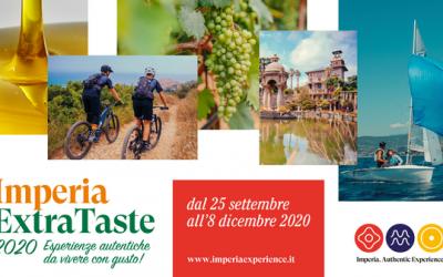 Evento Vivere esperienze con gusto: Imperia Extra Taste 2020 e Olioliva