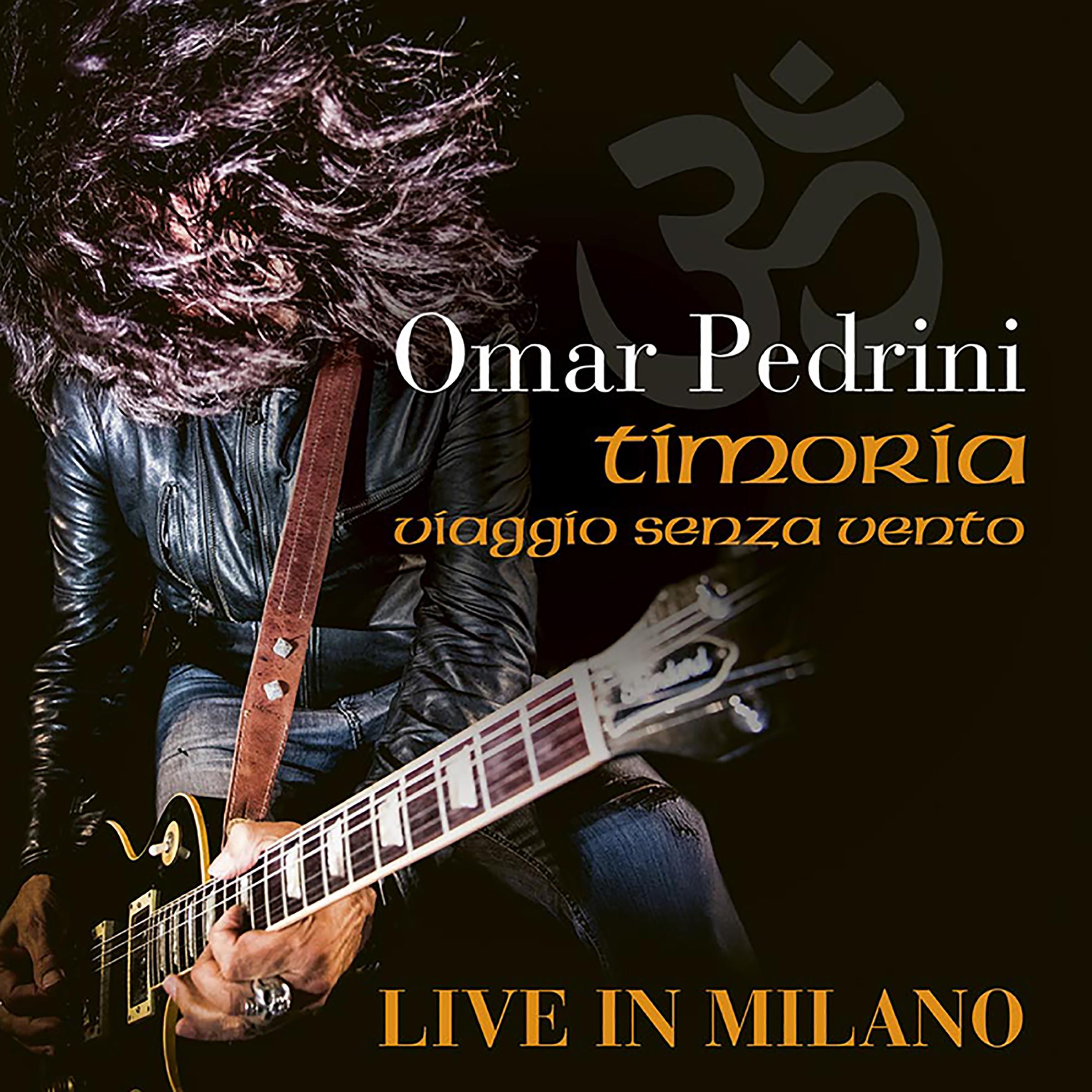 """Omar Pedrini pubblica il live del """"Viaggio Senza Vento Tour"""""""