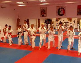 Accademia Wushu Sanda Alessandria festeggia i 50 anni di karate del maestro Sabiano Bacco