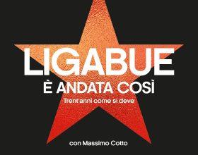 """Ligabue pubblica l'autobiografia """"È andata così"""", con Massimo Cotto"""