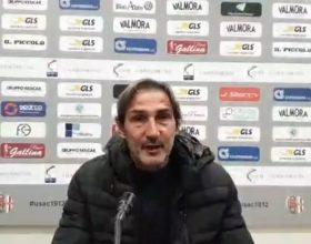 """Alessandria, Gregucci: """"Bene l'atteggiamento, non la gestione del finale"""""""