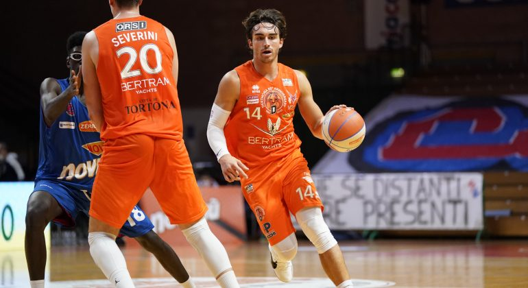 Basket: domenica sarà derby. La capolista Bertram Derthona sfida JB Monferrato