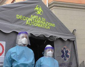 Tenda sanificazione Castellazzo Soccorso