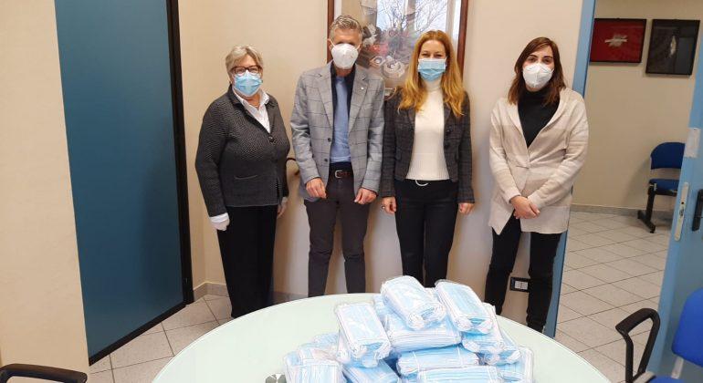 Rotary Club di Valenza: donate 2500 mascherine al For.Al