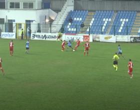 Una doppietta di Cori stende l'Alessandria. L'Albinoleffe vince 2-0
