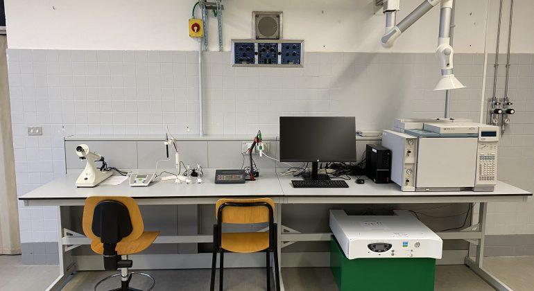 Al Volta di Alessandria un nuovo laboratorio di chimica strumentale