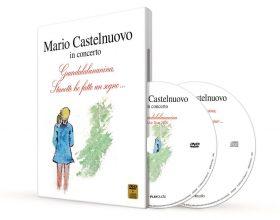 Mario Castelnuovo pubblica il suo primo DVD live per i 40 anni di carriera