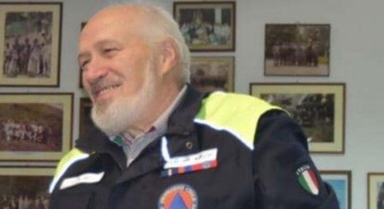 Immagine Addio a Franco Delodi vice coordinatore della Protezione Civile di Occimiano