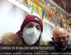 Il ricordo di Evaldo Montecucco col figlio Massimo, la nipote Arianna e mister Marletta