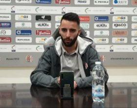 """Alessandria, Chiarello: """"Felice per la vittoria. Ora inizi un nuovo percorso"""""""