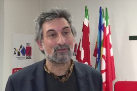 Franco Armosino segretario generale Cgil Alessandria