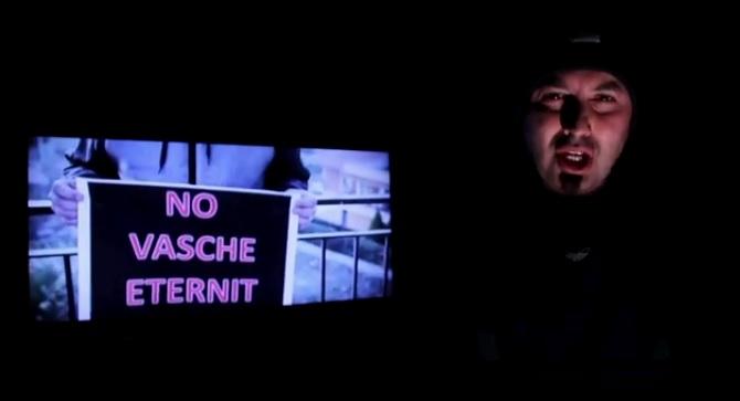 Un rapper siciliano in prima linea contro il mal d'amianto e per la ricerca sul mesotelioma