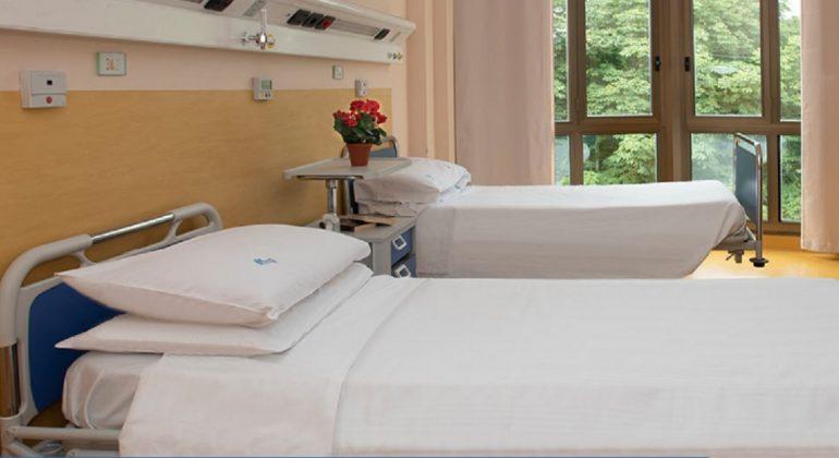 Immagine Alla Casa di Cura Sant'Anna di Casale creato un reparto covid per pazienti da tutto il Piemonte