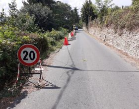 Dal 22 febbraio lavori alla strada della Maggiora di Acqui