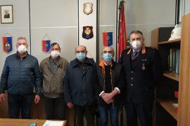 Il sindaco di Valenza incontra i 'nonni vigili', impegnati ogni giorno davanti alle scuole
