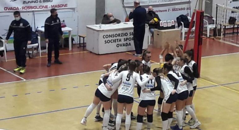Seconda sconfitta in campionato per l'Alessandria Volley: contro Ovada finisce 3-1